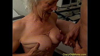 Titjob mature Crazy old mom fucked and oral