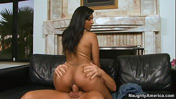 Hot Latina Fucked On Couch