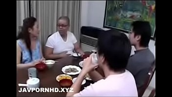 Mature Japanese Mom Teach Sex To Son