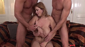 Double Penetration &amp_ Tight Armpits Fuck Covers Terry Nova In Gallons Of Cum