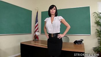 Naked teacher picture - Teacher veronica avluv jerks off student