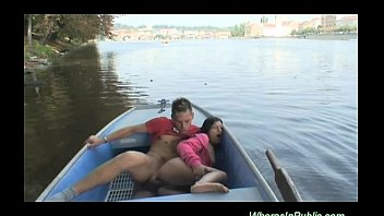 Wives having sex on business trips Hot boat trip porn in public