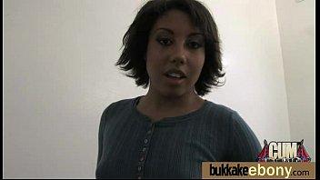 Interracial Bukkake Sex With Black Porn Star 7