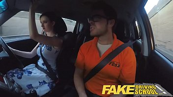Zara escort dc Fake driving school posh freaky redhead with big tits and ginger bush fucks
