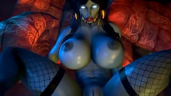 X'Sara Draenei Bimbo Slut 3d Porn
