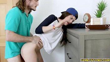 Brick Danger slams Piper June against her dresser!