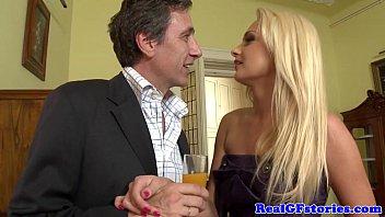 Swinging euro housewives double penetration thumbnail