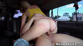 Rigg nude Helpless blonde asia riggs riding cock in van and blowjob
