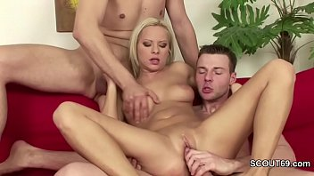 Two Young Boys Seduce Mom of Friend to Fuck in Threesome - 69VClub.Com