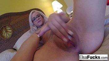 Elsa Jean's home video masturbation Vorschaubild