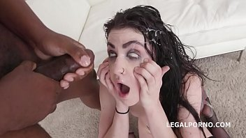 Cum facials video trailers Lydia black 7on1 balls deep anal, dap, gapes and submission
