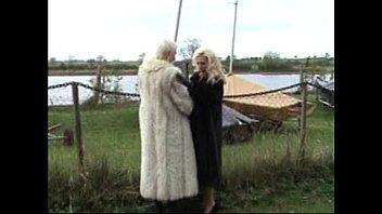 Fur coats fetish Lana in furs 2