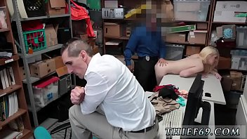 Cop strip search and fucks girl Attempted Thieft