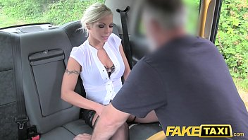 Fake Taxi Deep throat gagging milf gets backseat facial thumbnail