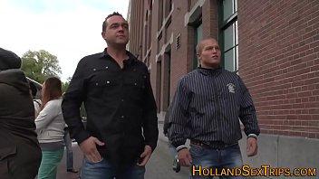 Dutch whore gets facial