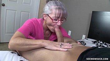 Horny Granny Sucks A Young Dick