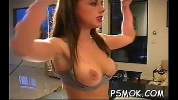 Free pussy smoking videos Horny cuttie in slutty raiment smoking a cigarette