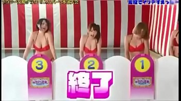 Funny show biz adult sex games Japanese game show