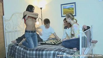 College roommates fuck two hot chicks Ruth Folwer, Karen