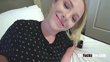 Making Blonde Teen Sister Feel Better- Dixie Lynn