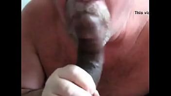 Mature White Guy Milking BBC 4 Cum