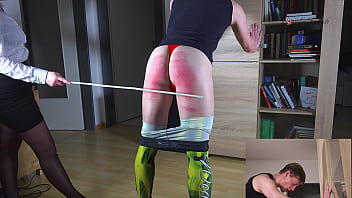 Smacking bare bottom - Clip 103lar silent caning - dualscreen - full version sale: 7