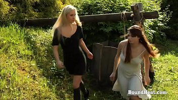 Training submissive lesbian Disappeared on arrival 2: submissive life of young lesbian slave