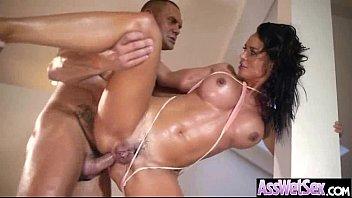 Anal Sex With Big Curvy Oiled Wet Butt Girl (franceska jaimes) vid-13