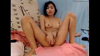 This Asian Girl Squirt Is Super Wet - Join LilTeenCams.com