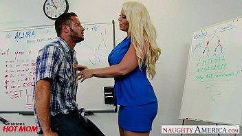 Hot naughty moms on sex vid Blonde mom alura jenson fuck a big shaft