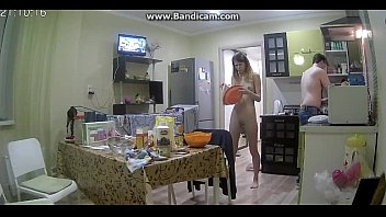 Maryjo cooke naked - Working naked in kitchen