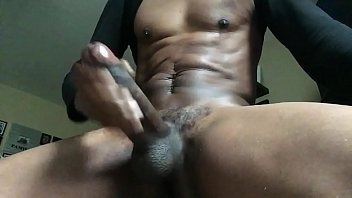 Thick BBC stroke and cum thumbnail