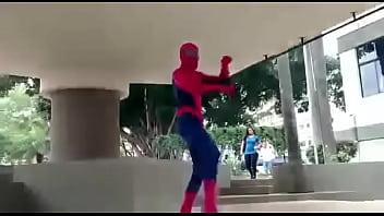 Spider man gay song Homem aranha dançando funk isso é uma 360p