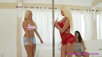 Jamie chung bikini Angelina chung, laela pryce, nikita von james : blonde goodness