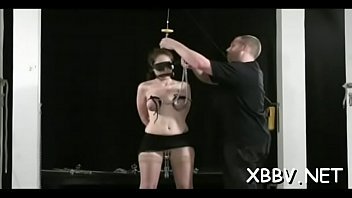 Breast servitude leads to severe castigation moments on live cam