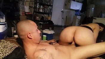 Bouncing my big ass booty for him