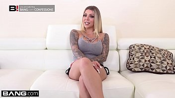 Tattooed nympho Karma Rx fucks her neighbors husband