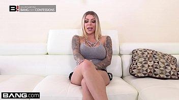 La ninfómana tatuada Karma Rx se folla a su marido vecino