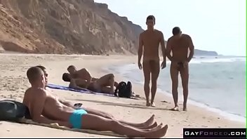Cancun gay beaches - Public sex anal fucking at beach