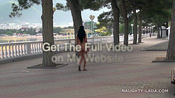 Nude in public. Seafront thumbnail