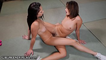 Vintage adidas basketball sneakers Girlfriendsfilms ariana marie tribs her ex on the wrestling mat