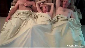 Insatiable Cockslut Granny Threesome