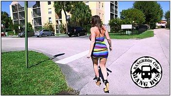 BANGBROS - Thick MILF Sara Jay Hunting Cock In Miami