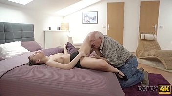DADDY4K. Nice babe Ornella Morgen wants to try sex with seasoned senior