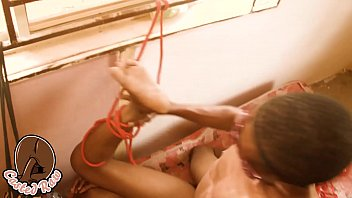 Fulani Nigerian girl likes to tied up and fucked hard like a slut صورة