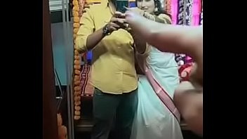 Hot Swathi naidu romantic and sexy first night short film making part-12