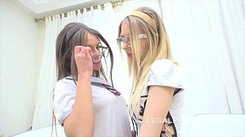 Teen sluts Goldie & Lita Phoenix go for intense pink licking & anal fucking thumbnail