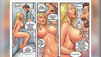 História em Quadrinho Pornô (Cartoon HQ) - Exame Médico no Clube - As Patricinhas - Câmera Caseira