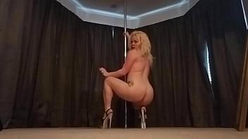 Stripper pole work out Lexi grant - desire
