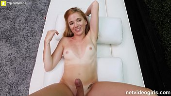 Petite Girl With Tan Lines Fucks During A Casting For A Calendar App thumbnail